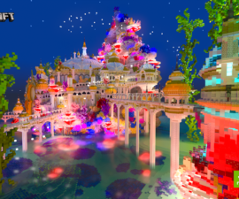 minecraft on nvidia rtx castles