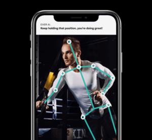 exer ai app phone view