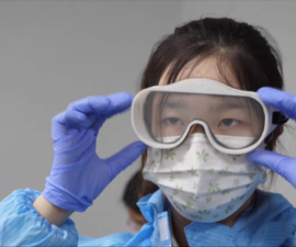 3d printed Goggles from State Key Lab of CAD&CG of Zhejiang University