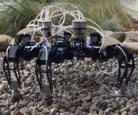 UCSD flexi-fleet robot