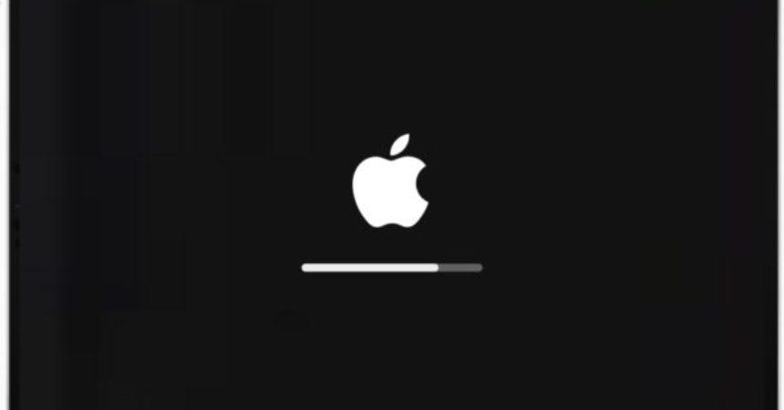 ipad pro logo reboot